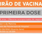 ATENÇÃO ALMEIRIM – A Campanha de vacinação contra a COVID-19 continua